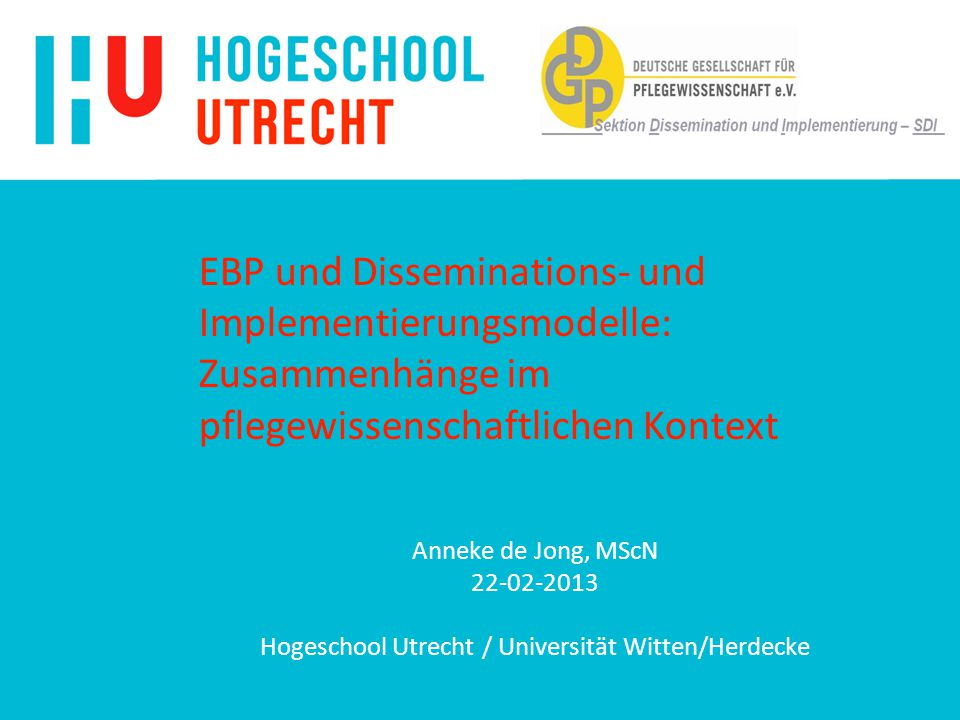 Hogeschool Utrecht / Universität Witten/Herdecke