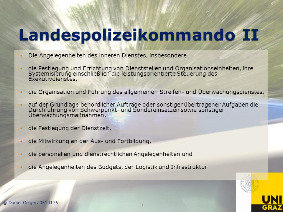 Landespolizeikommando II