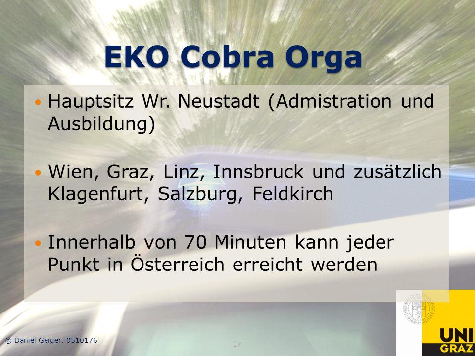 EKO Cobra Orga Hauptsitz Wr. Neustadt (Admistration und Ausbildung)