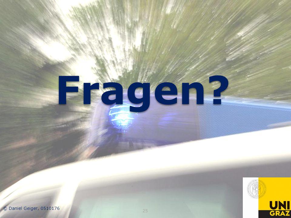 Fragen © Daniel Geiger, 0510176