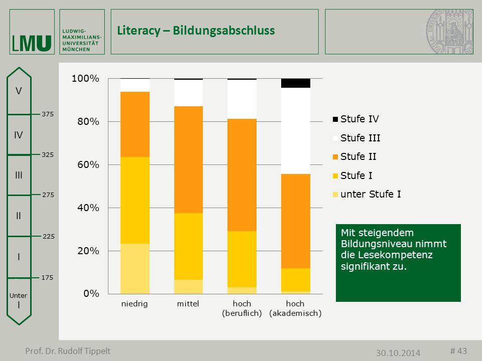 Literacy – Bildungsabschluss