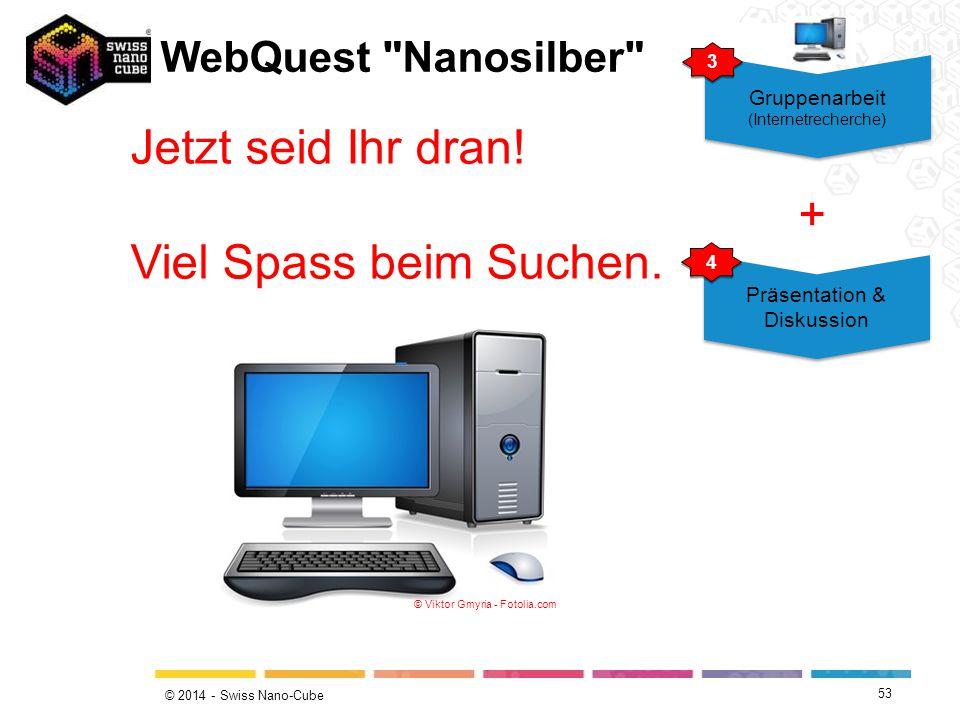 Jetzt seid Ihr dran! Viel Spass beim Suchen. + WebQuest Nanosilber