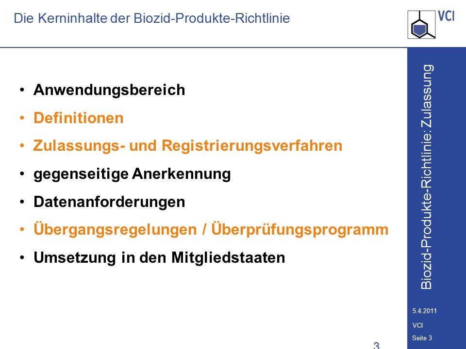 Die Kerninhalte der Biozid-Produkte-Richtlinie