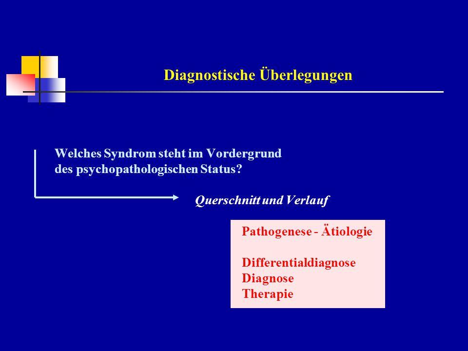 Diagnostische Überlegungen