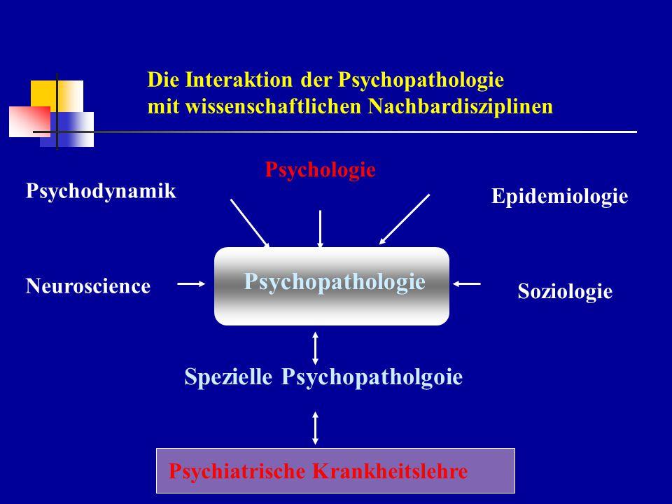 Spezielle Psychopatholgoie