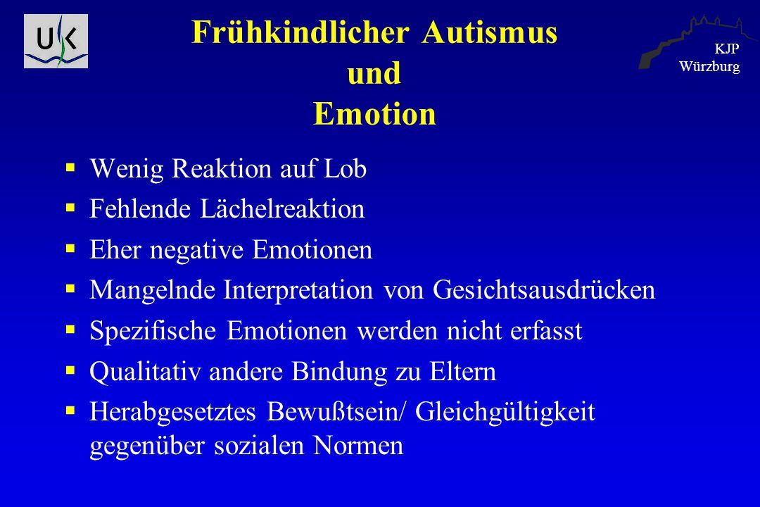 Frühkindlicher Autismus und Emotion