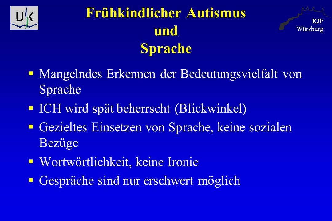 Frühkindlicher Autismus und Sprache