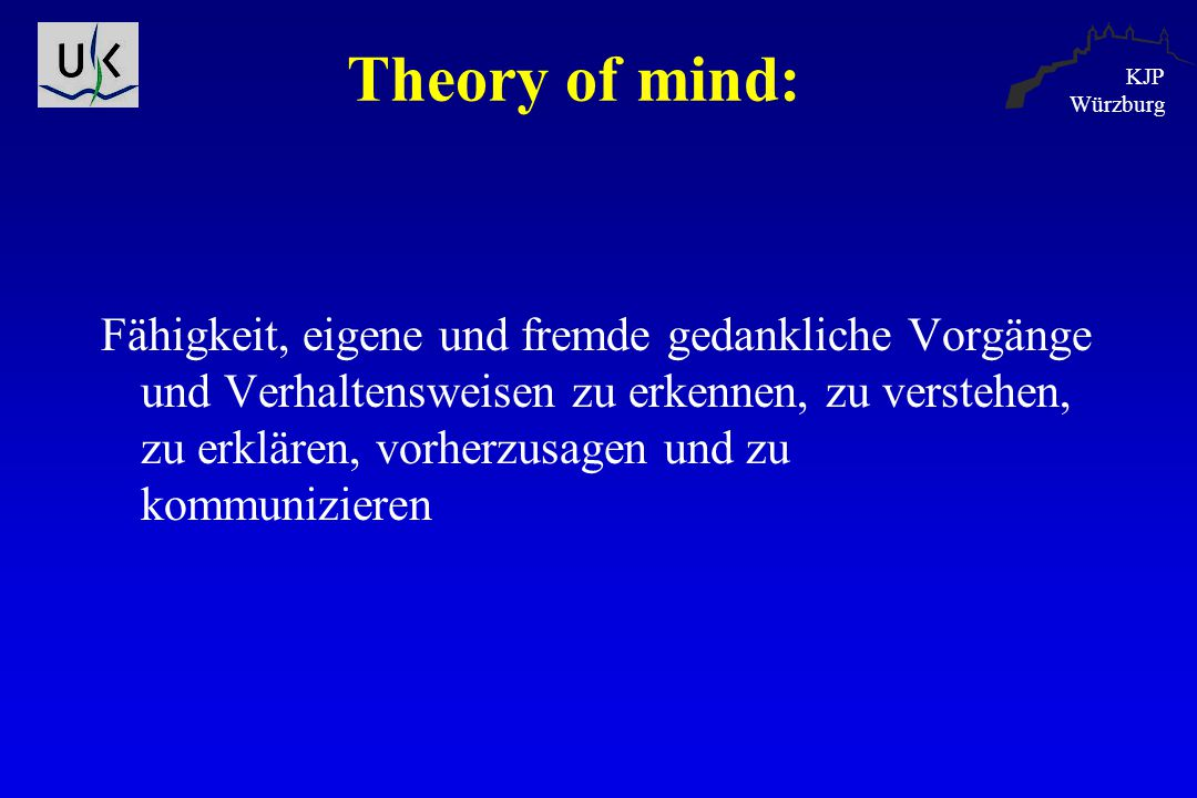 Theory of mind: