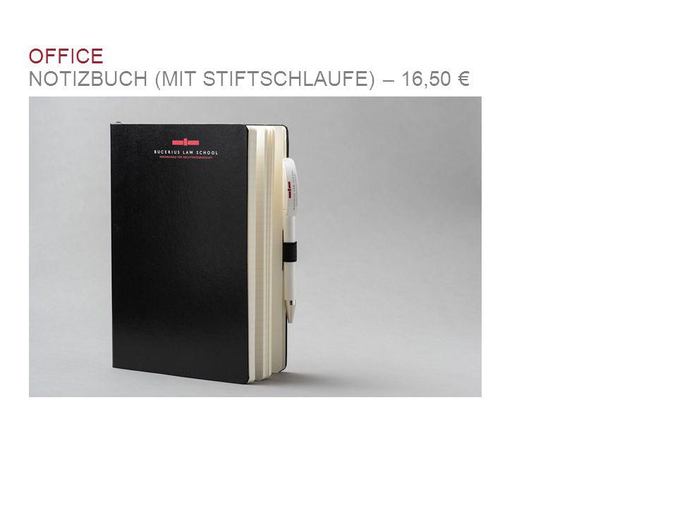 OFFICE NOTIZBUCH (MIT STIFTSCHLAUFE) – 16,50 €