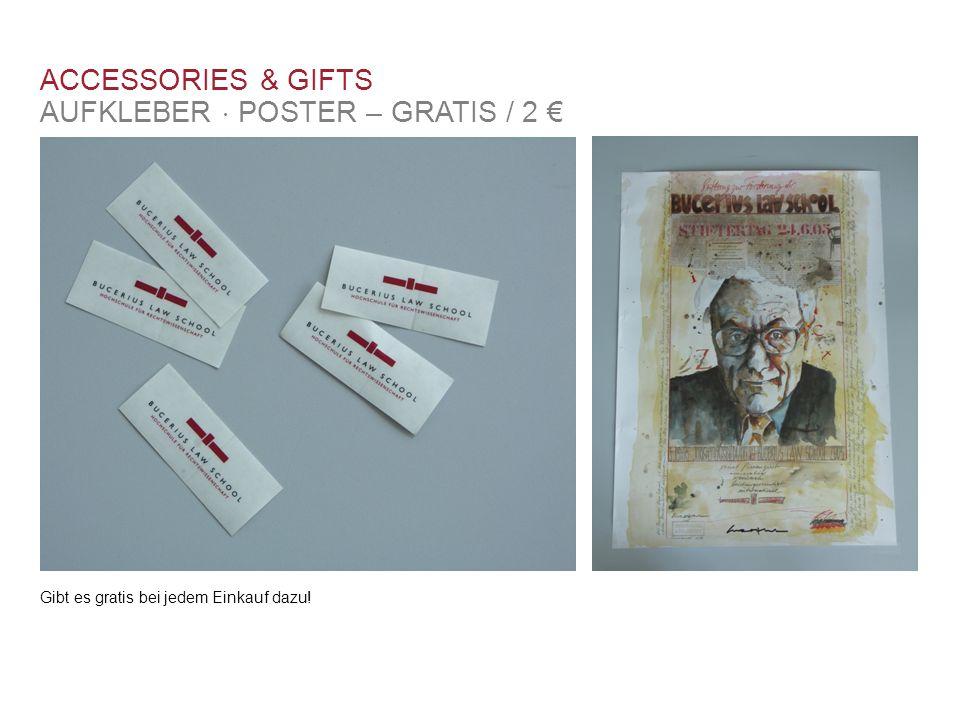 AUFKLEBER  POSTER – GRATIS / 2 €