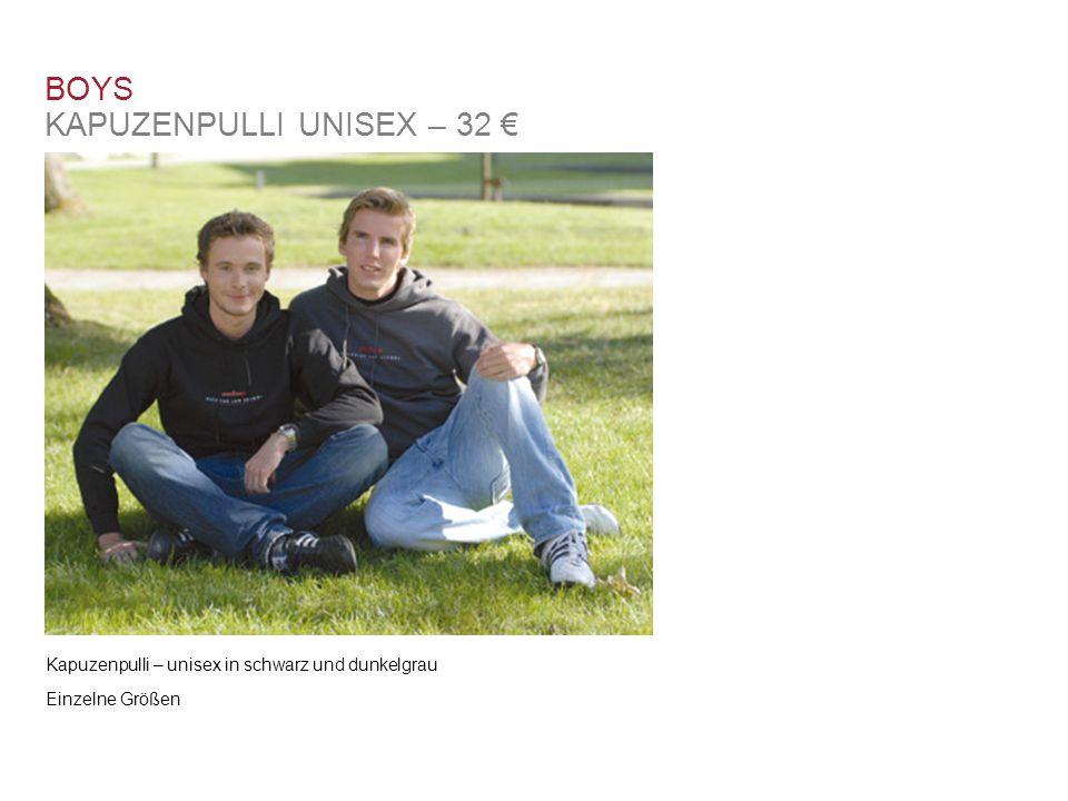 BOYS KAPUZENPULLI UNISEX – 32 €