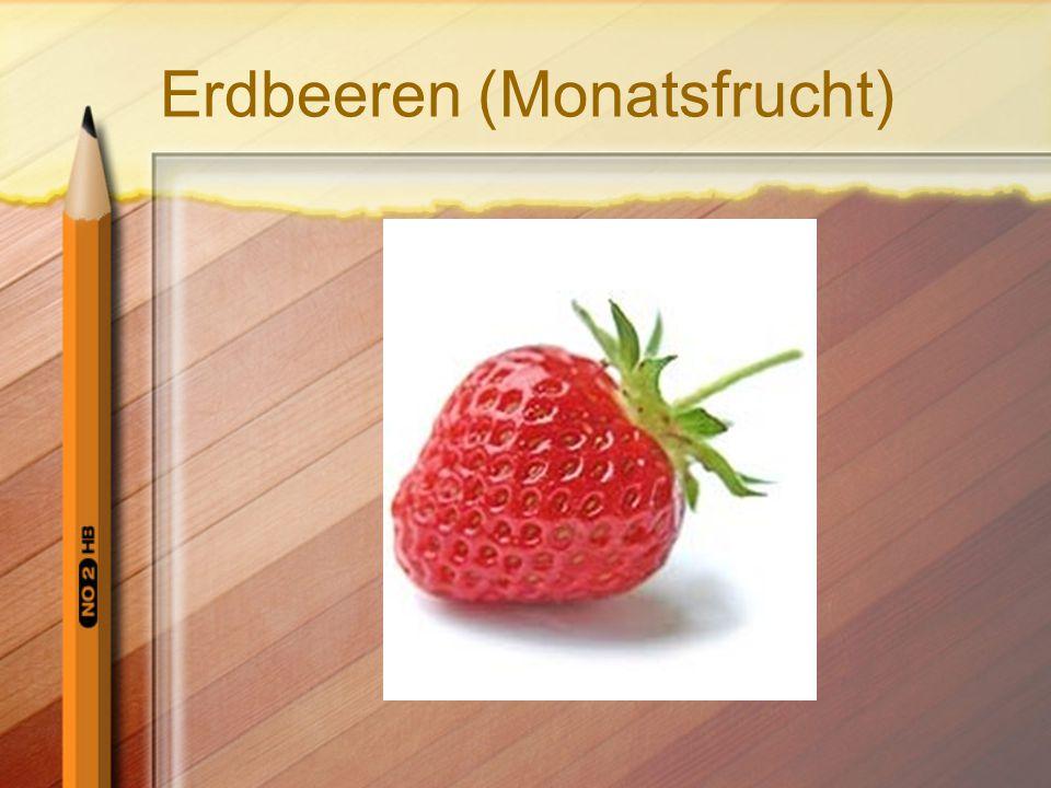 Erdbeeren (Monatsfrucht)