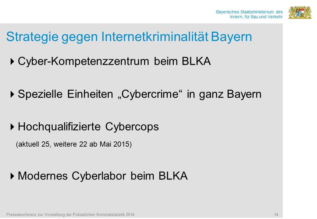 Strategie gegen Internetkriminalität Bayern