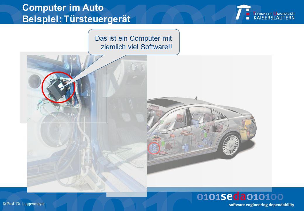 Computer im Auto Beispiel: Türsteuergerät