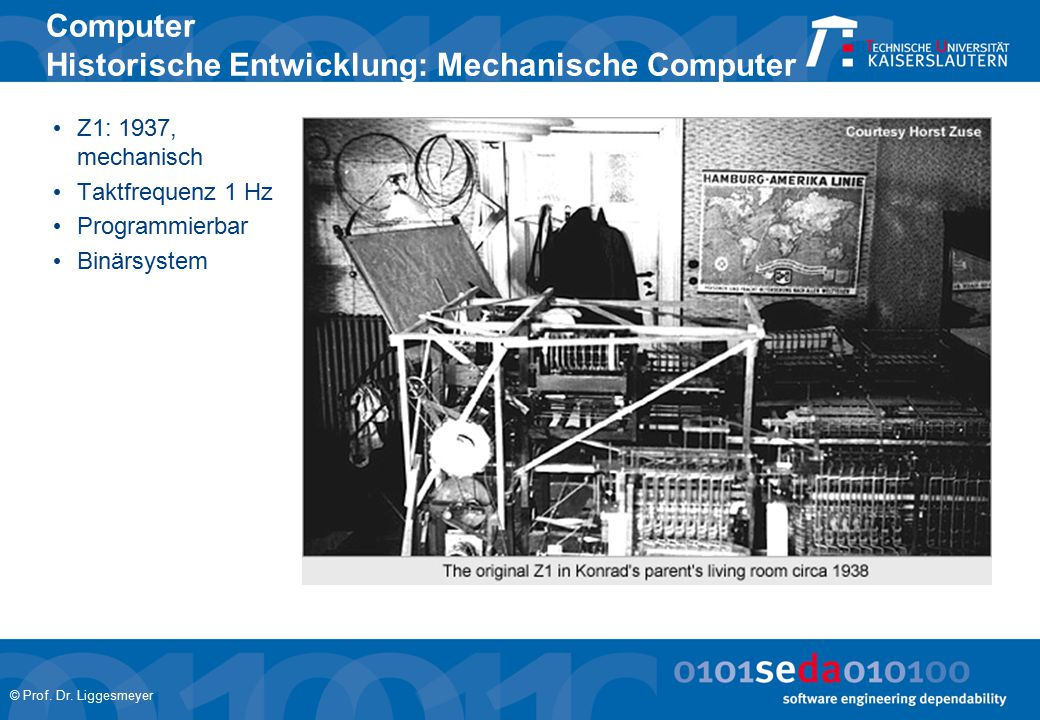Computer Historische Entwicklung: Mechanische Computer