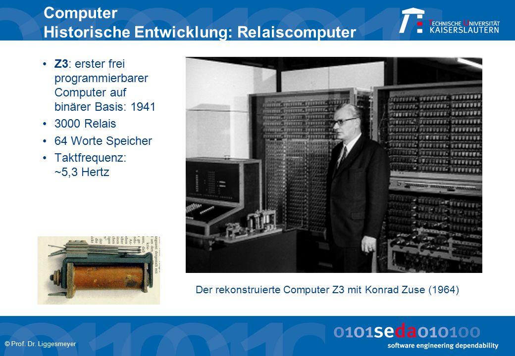 Computer Historische Entwicklung: Relaiscomputer
