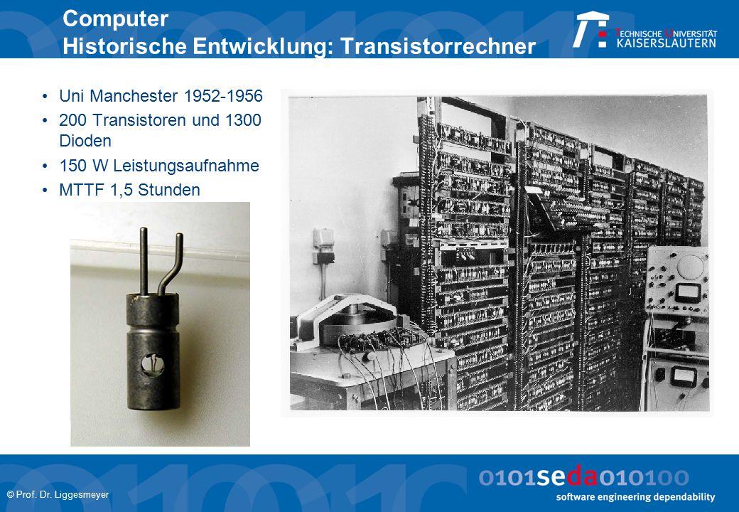Computer Historische Entwicklung: Transistorrechner