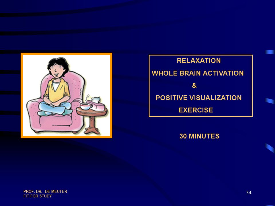 WHOLE BRAIN ACTIVATION & POSITIVE VISUALIZATION EXERCISE
