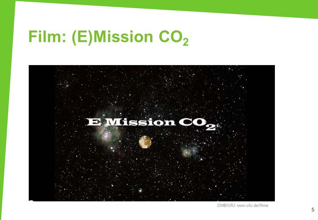 Film: (E)Mission CO2 Der Film wird gemeinsam mit den TN angeschaut.