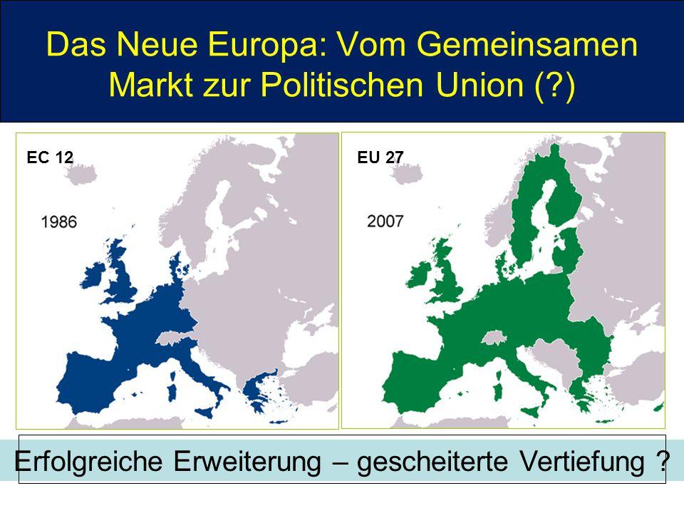 Das Neue Europa: Vom Gemeinsamen Markt zur Politischen Union ( )