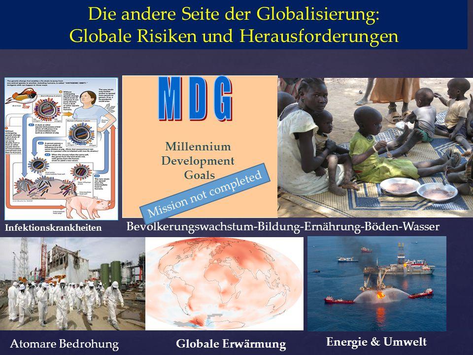 M D G Die andere Seite der Globalisierung: