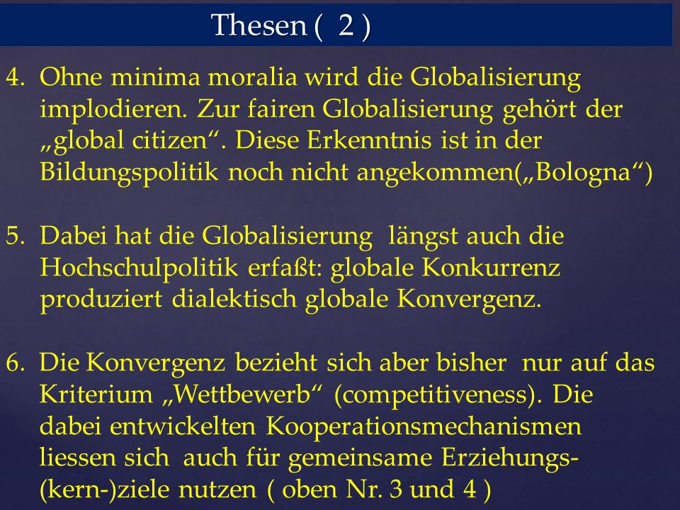 Thesen ( 2 )