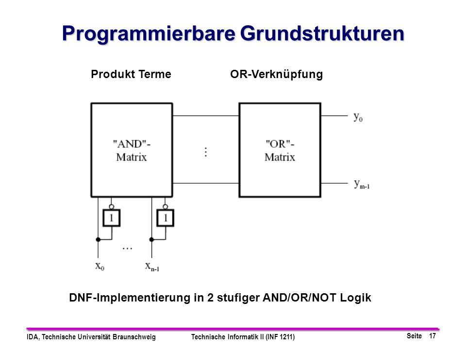 Programmierbare Grundstrukturen