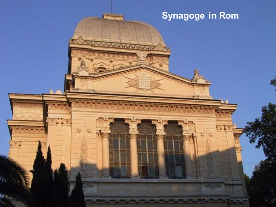 Synagoge in Rom