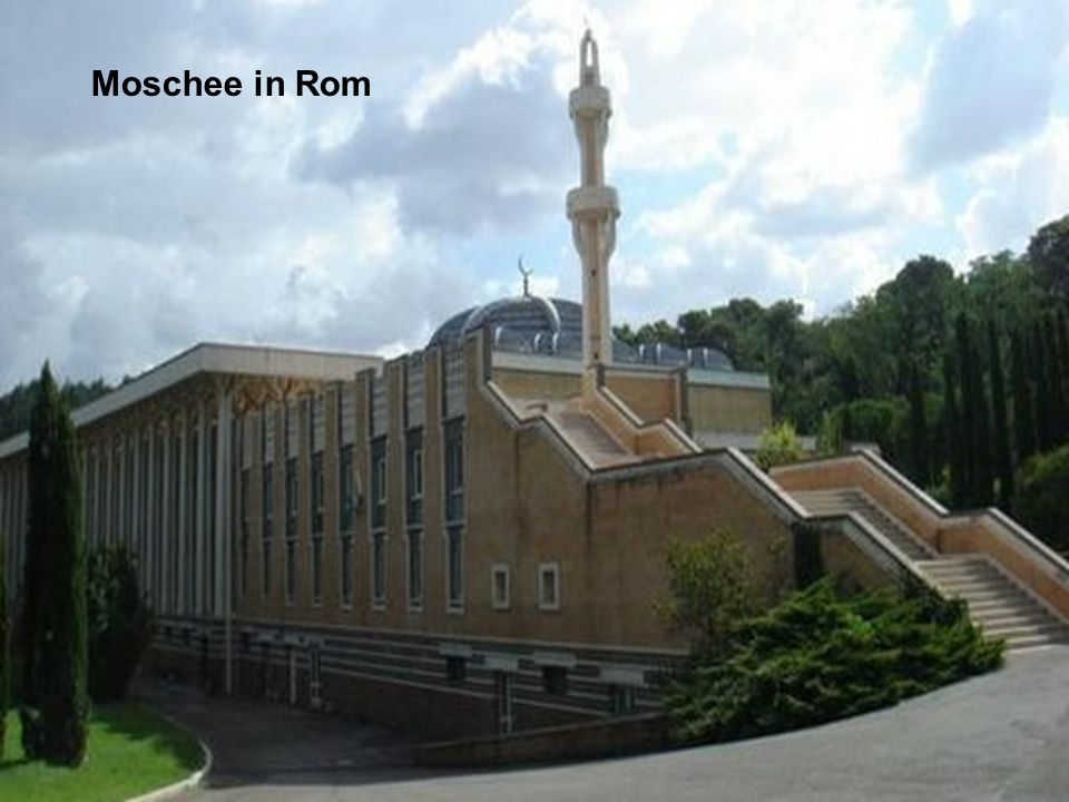 Moschee in Rom