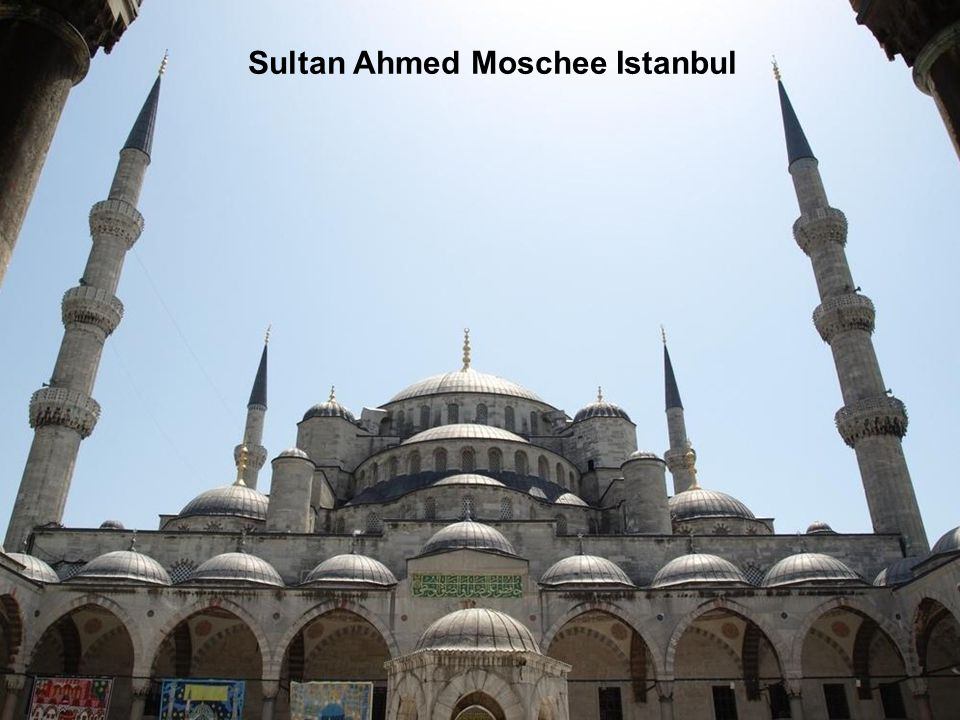 Sultan Ahmed Moschee Istanbul