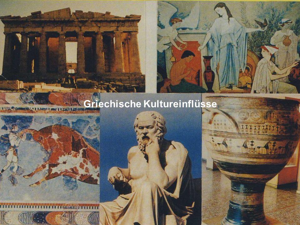 Griechische Kultureinflüsse