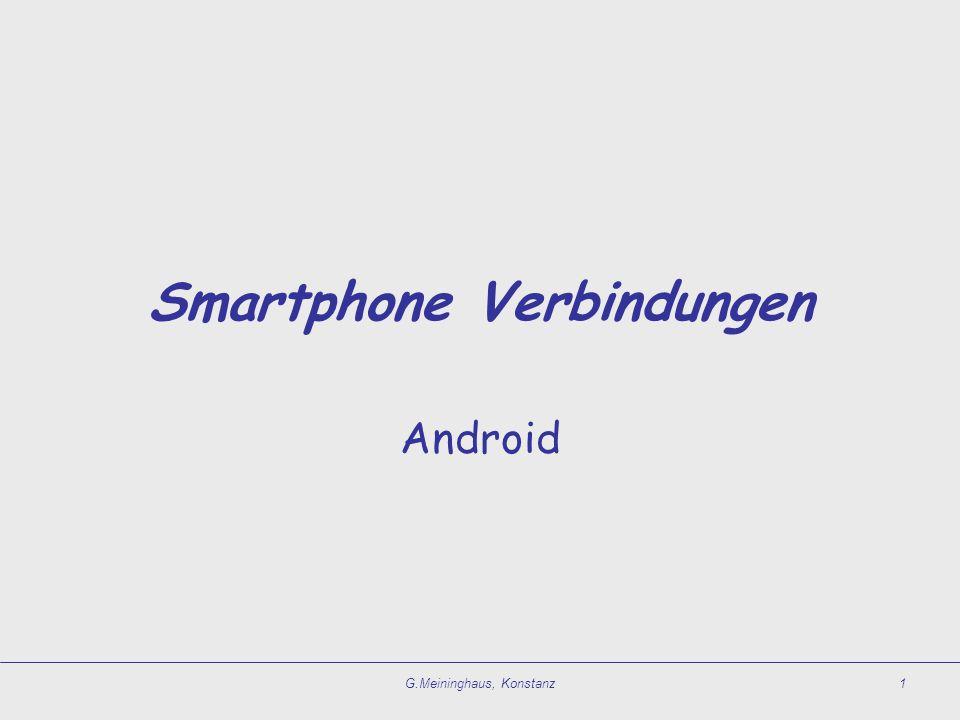 Smartphone Verbindungen