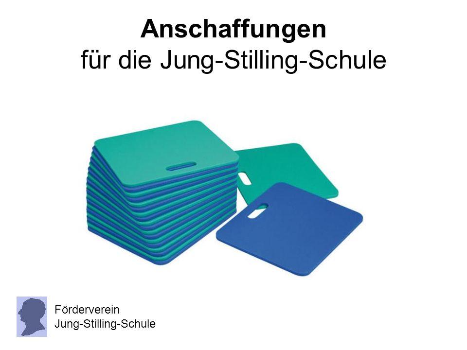 Anschaffungen für die Jung-Stilling-Schule
