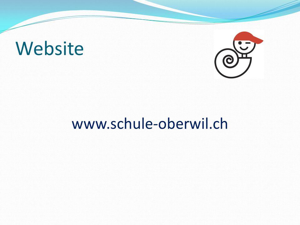 Website www.schule-oberwil.ch