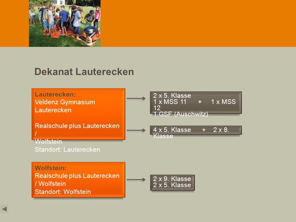 Dekanat Lauterecken Lauterecken: Veldenz Gymnasium Lauterecken