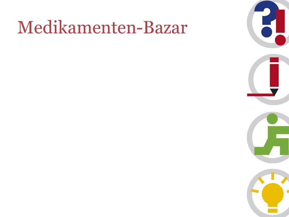 Medikamenten-Bazar