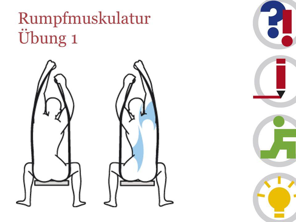 Rumpfmuskulatur Übung 1