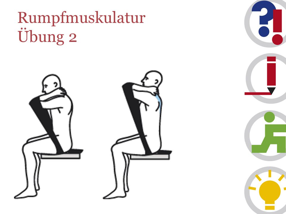 Rumpfmuskulatur Übung 2