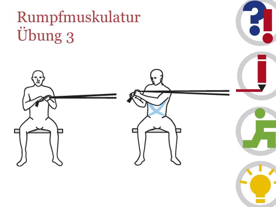 Rumpfmuskulatur Übung 3