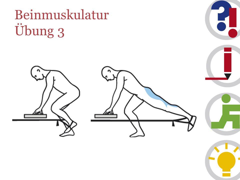 Beinmuskulatur Übung 3