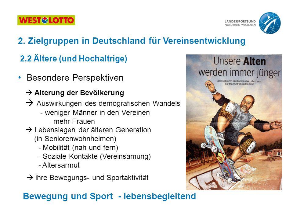 2. Zielgruppen in Deutschland für Vereinsentwicklung