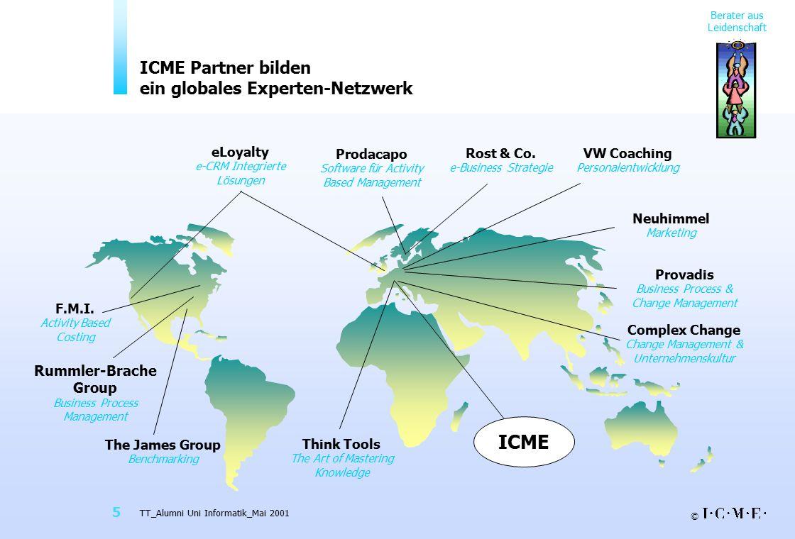 ICME Partner bilden ein globales Experten-Netzwerk