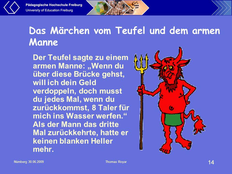 Das Märchen vom Teufel und dem armen Manne