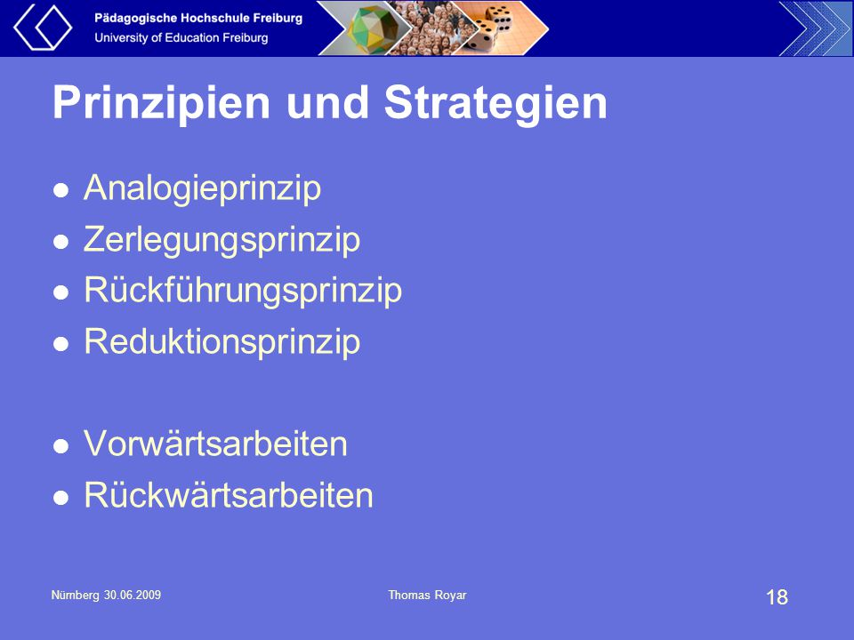 Prinzipien und Strategien