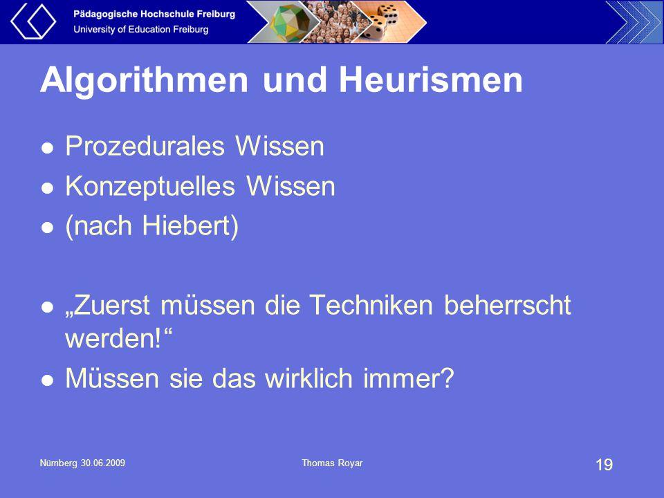 Algorithmen und Heurismen