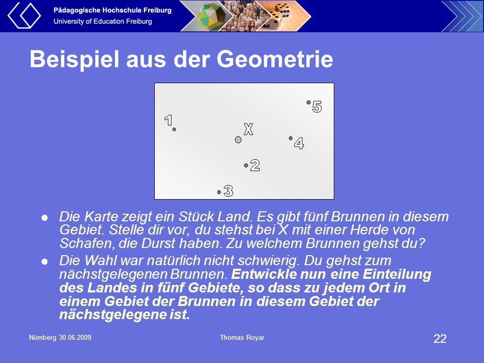 Beispiel aus der Geometrie