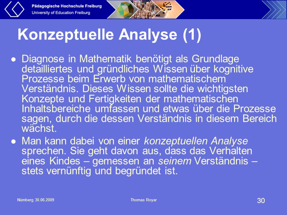 Konzeptuelle Analyse (1)