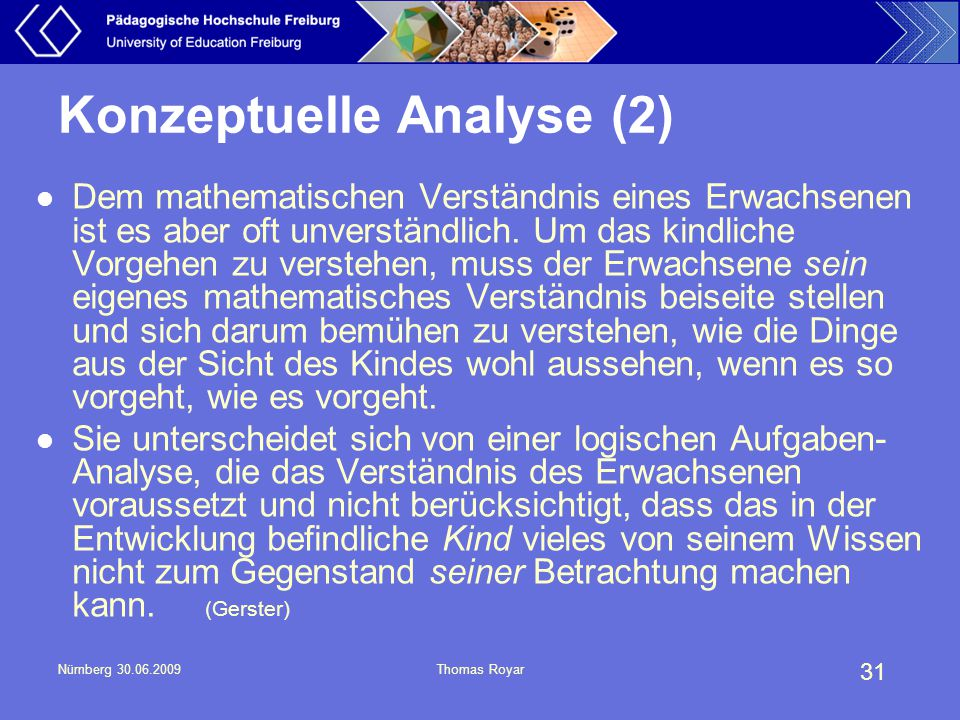 Konzeptuelle Analyse (2)