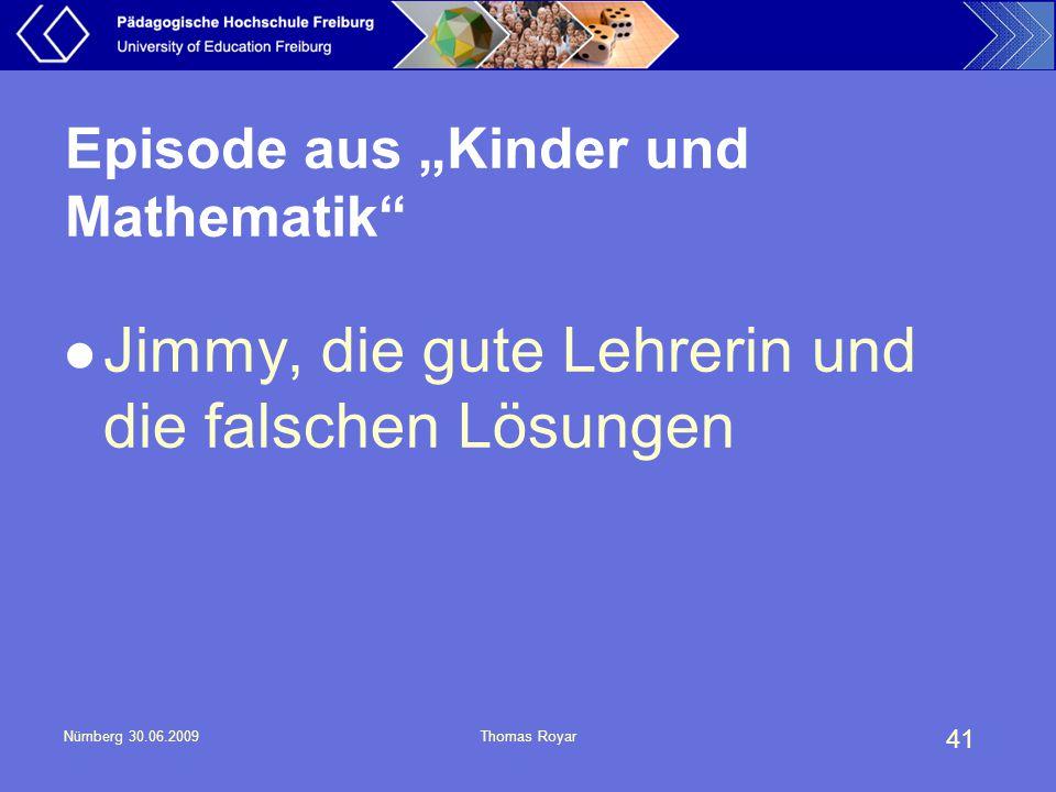 """Episode aus """"Kinder und Mathematik"""