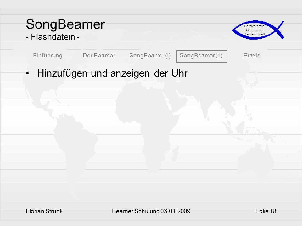 SongBeamer - Flashdatein -